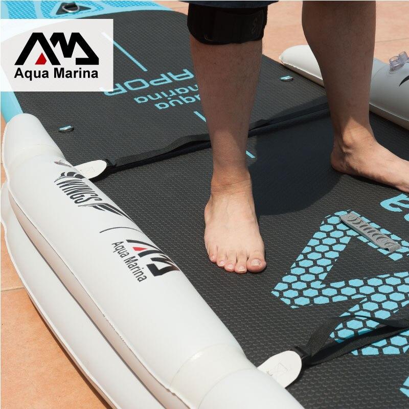 Stabilisateur gonflable stand up paddle board sup planche de surf accessoire nouveau joueur enfant planche ailes ISUP entraînement roue set B03022 - 5