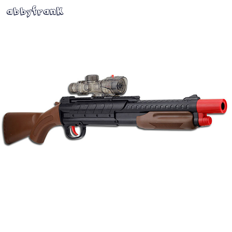 Abbyfrank Infrared Toy Gun Sniper Rifle Paintball Gun Pistola Airsoft Arma Soft Water Bullet Arme Orbeez Plastic Toys For Kids