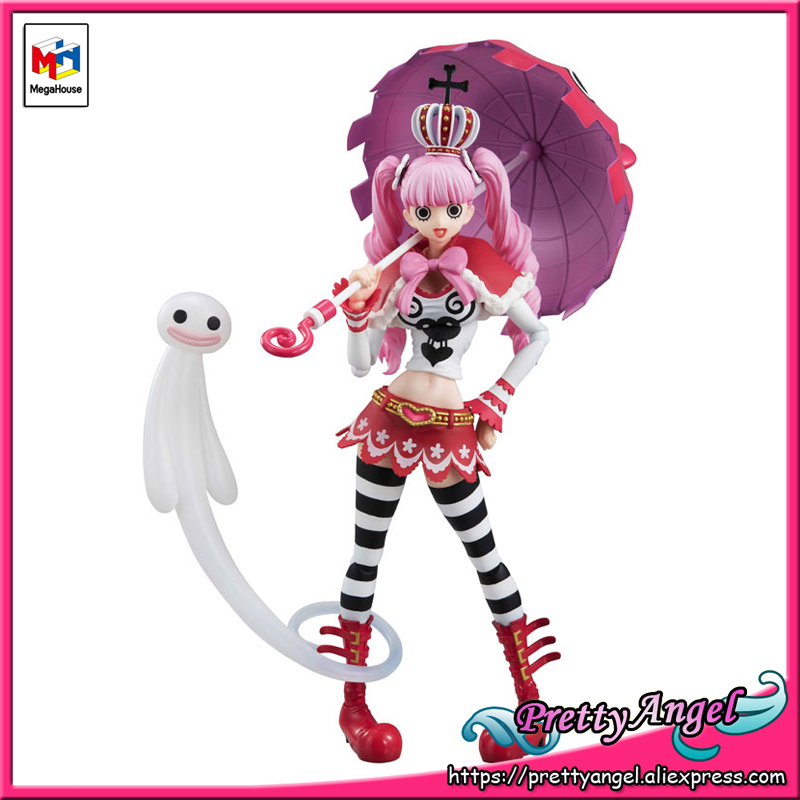PrettyAngel - Genuine MegaHouse Variable Action Heroes ONE PIECE Ghost Princess Perhona PAST BLUE Action Figure prettyangel genuine megahouse variable action heroes one piece dracule mihawk action figure
