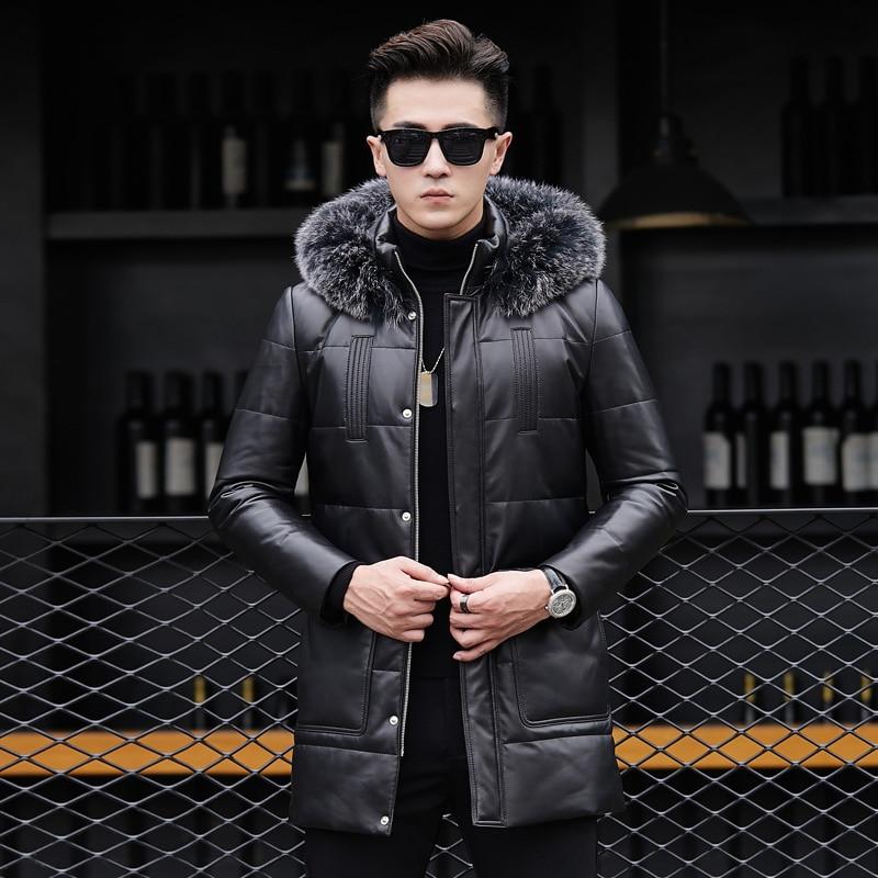 QT1615 новые зимние действительно pipi пуховая куртка мужская лиса воротники в 17317 p900 Длинная утепленная развивать нравственность