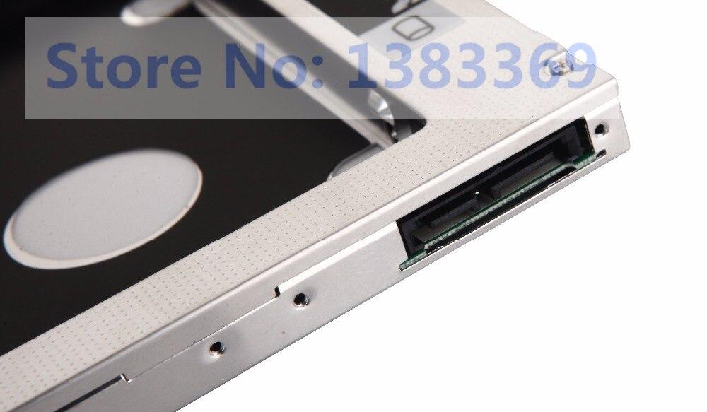 12.7 SATA 2nd HDD SSD Hard Drive Caddy Bay for Asus N76 N76V N76VJ N76VM N76VZ