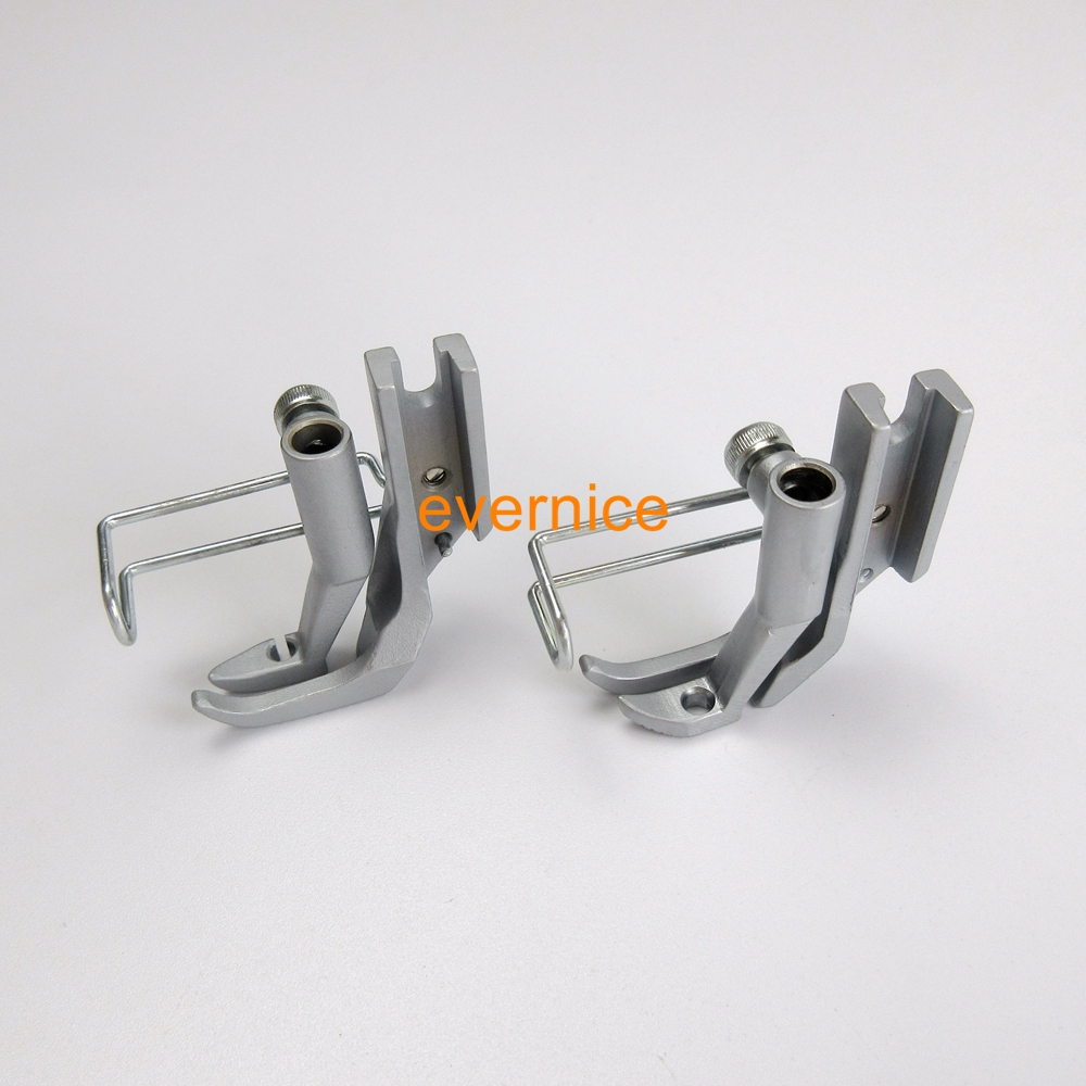 Right Left Zipper Knurled Presser Foot For Durkopp Adler 67 68 167 267 69 269