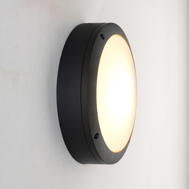 Modern outdoor wall  light Waterproof IP54 Porch Aluminum wall lamp for home garden decoration  round sconce  fixture 1116 led outdoor wall sconce wall mounted lamp garden porch light bedside lamp balcony sconce aisle light vintage wall sconces