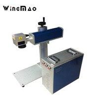 Logo Portable Laser Fiber Printing Machine For Gold Jewelry Fiber Laser Marking Engraving Machine