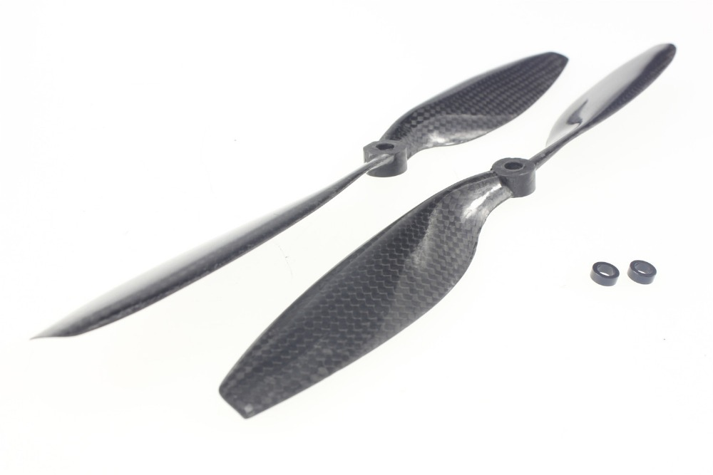 F05301 10x4.5 3K Carbon Fiber Propeller CW CCW 1045 1045R CF Props Props For RC Quadcopter Hexacopter Multi Rotor Drone FPV