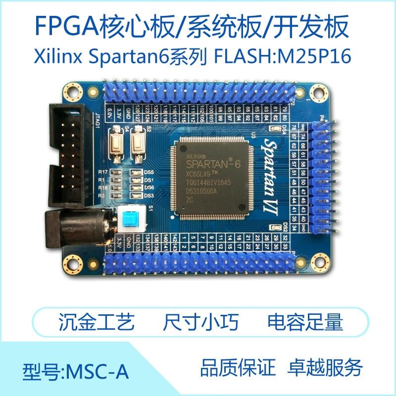 XILINX Spartan6 FPGA Core Board System Board Development Board /XC6SLX9-2TQG144C ...