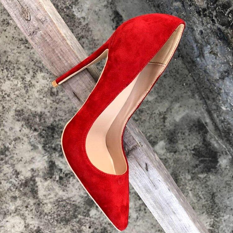 Women Shoes High-Heels 12CM Pumps Party Patent Black