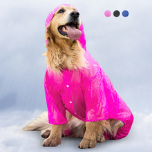 Genuine Ondoing Solid Dog Raincoat For Small Medium Big Dog Prevent Sunlight And Rain Portable Pet Jacket Waterproof Cloths