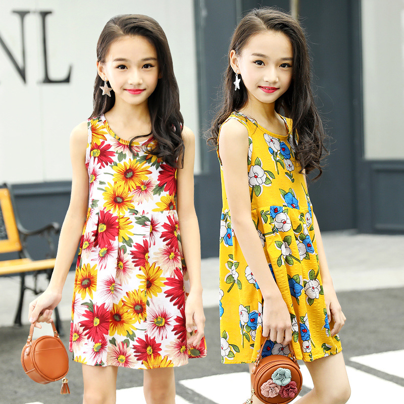 big girls dresses summer 2019 little girls dresses kids baby girl party dress children clothes size for 2345678 9 10 11 12 years