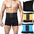 Nova Trianing Hot Shapers Do Corpo Da Cintura Barriga Espartilho Homens Abdômen Tummy Trimmer Cintura Cinchers Cinturão de Slim Belt Queimar Gordura Underwear
