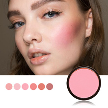 Focallure 6 Colors Blush Makeup Cosmetic Natural Pressed Blusher Powder Single Palette Charming Cheek Color Make Up Face Blush недорого