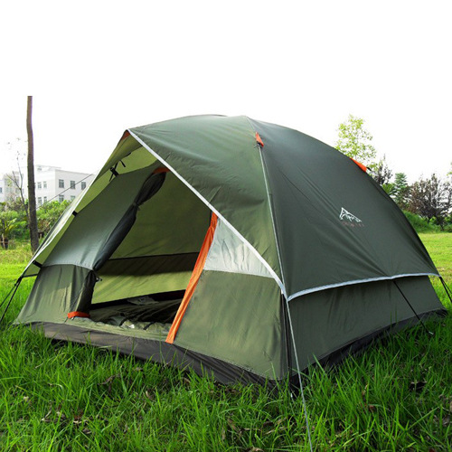 Family outdoor c&ing tent for 3-4 person fishing tents waterproof pop up tent tourist  sc 1 st  AliExpress.com & Family outdoor camping tent for 3 4 person fishing tents ...
