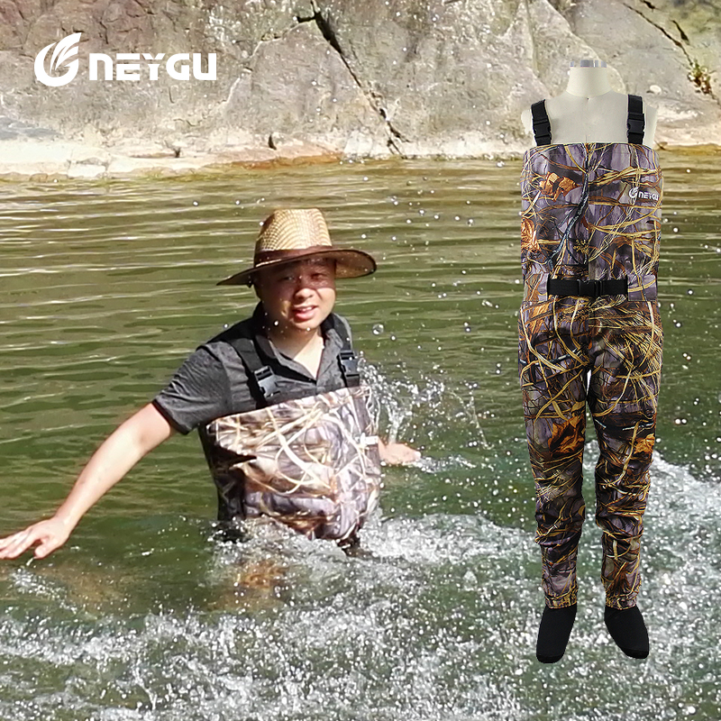 Pesca wading pants trango fly waders high quality chest for Fly fishing waders