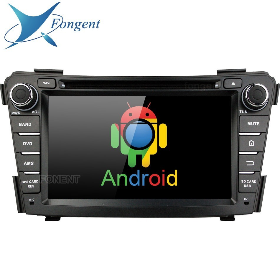 Per Hyundai I40 2011 2012 2013 2014 Android Autoradio 2 din Lettore DVD Navigatore GPS Radio Stereo Audio intelligente multimedia