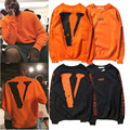 Men fashion vlone off white hoodie hip hop sweatshirt women harajuku palace skateboards pullover thrasher fleece tracksuit