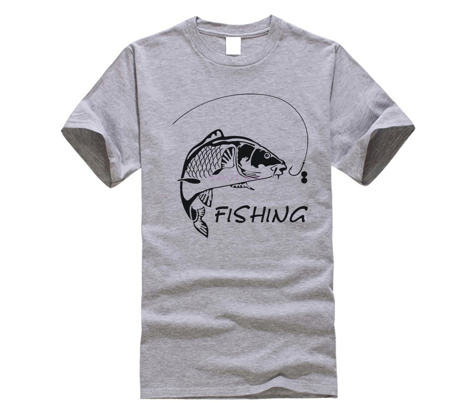 Fishings Carp T-shirts Love to Fish Printed Tshirt High Quality Mens O-Neck Cotton Short sleeves Tees Funny Men Fitness Tops