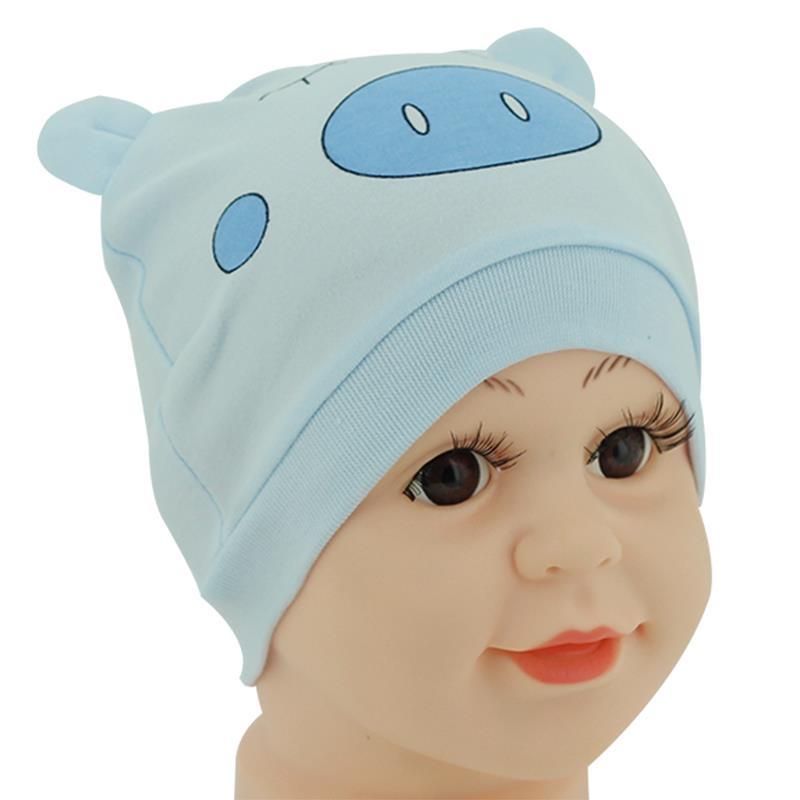 1Pcs Baby Hat Newborn Boy Girl Bonnet Accessories Animal Cartoon Blue Kids Cap Stuff Newborn Photography Props