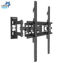 Plein Mouvement Stable TV Mural Inclinable Pivotant Support pour 26 »-55» LCD LED HD Plasma TV