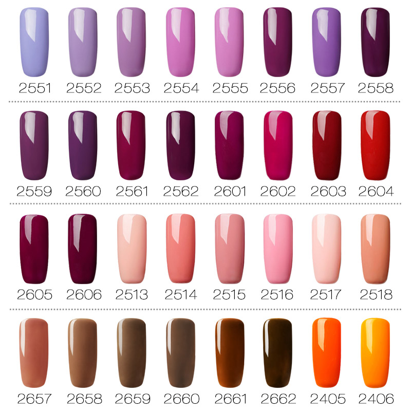 ROSALIND 7ml Gel Polish Nail Art Gel Nail Polish Set For Manicure Soak Off White Primer Semi Permanent UV Gel Hybrid Lacquer
