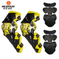 SCOYCO Motorcycle Knee Protector Motocross Knee Protector Racing Guards Motorcycle Knee Pads Motorbike Moto Protective Gear k12