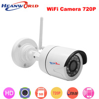 720P IP Wireless WIFI camera mini 1.0MP IP Camera outdoor Night Vision ONVIF CCTV Security Camera Network IP Cam ABS plastic