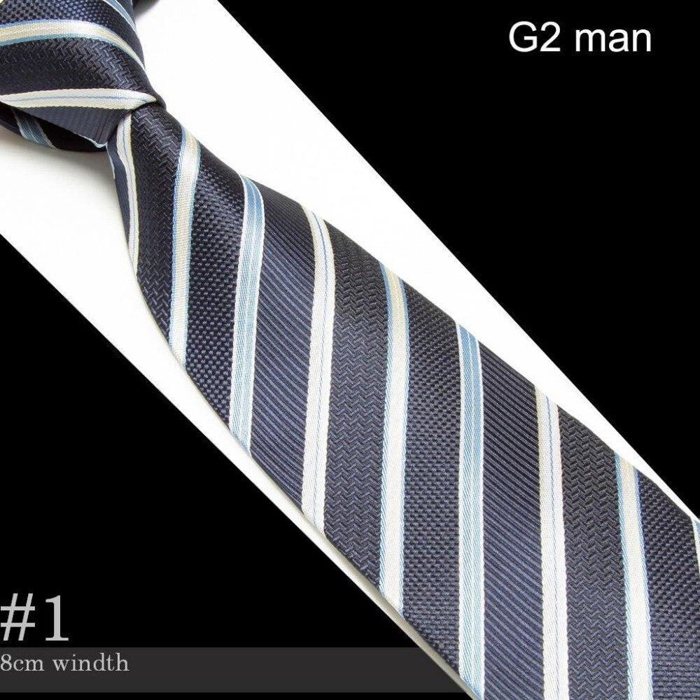 Mikrovlákna prokládané vázanky pro kravatu pro muže z kravaty Mariage Cravat