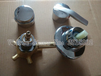 Customized 2 3 4 5 Thread Round Long Handle Connecting Faucet Shower Room Mixing Valve Cold