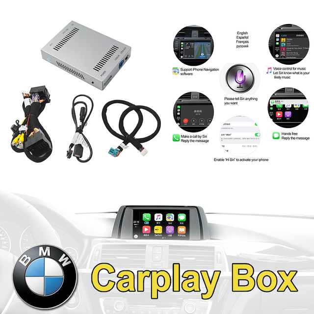 Reversing camera Interface module for BMW car radio 1/2/3/4/5/7series X3 X4 X5 X6 MINI with NBT system with Carplay Box