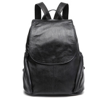 Backpack Women Sheep Leather Backpack Bookbags Travel Backpack Anti Theft Backpacks Mochila Feminina Solid Softback