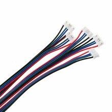 5 шт. 1 м 4-Pin Female-Female XH2.54 разъем кабель-удлинитель для 3d принтера Nema 17 шаговый двигатель кабель провода hyq