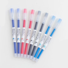 4 Pcs Large-capacity gel pen translucent colors office signature Student stationery writing exam