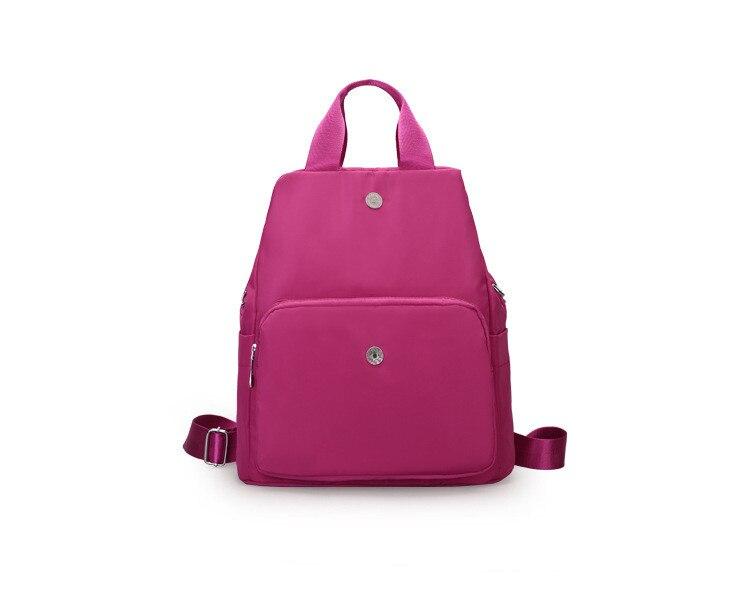 New style backpacks crossbody bag shoulder bag pink purple black solid bag for women jenni new pink solid ruffled chemise l $39 5 dbfl