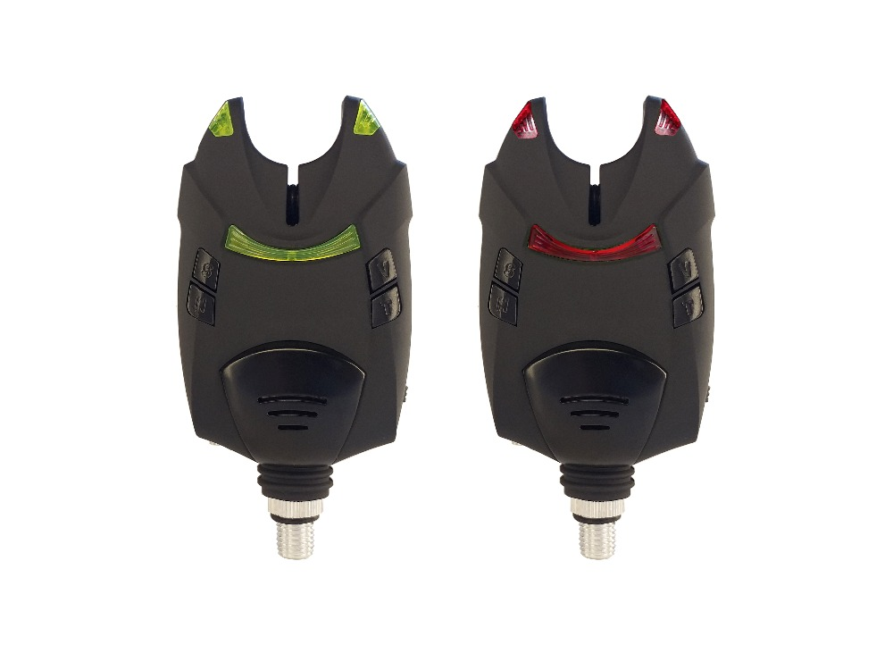 2 Pcs Running LED Carp Fishing Bite Alarm On Fishing Rod Carp Fishing Tackle