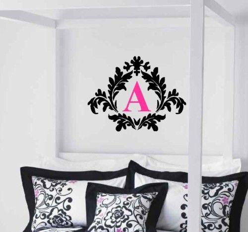 Online Get Cheap Damask Wall Decal Aliexpresscom Alibaba Group - Custom vinyl wall decals damask
