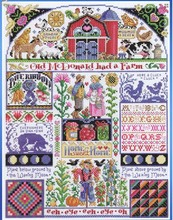 Gold Collection Counted Cross Stitch Kit Home Sweet Home Old Mcdonald Had a Farm Family janlynn