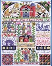 Gold Sammlung Gezählt Kreuz Stich Kit Home Sweet Home Alte Mcdonald Hatte einen Bauernhof Familie janlynn