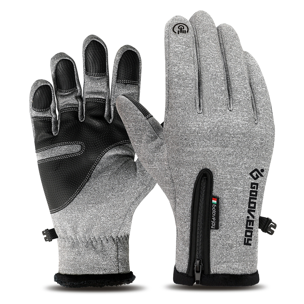 Thermal Winter Gloves Water Repellent Windproof Fleece Gloves Touch-screen Cycling Gloves Warm Climbing Skiing Gloves