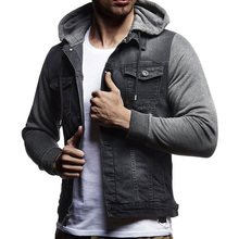 Aelfric Eden Hip Hop Hooded Men Autumn Winter Corduroy Bomber Jackets Coats