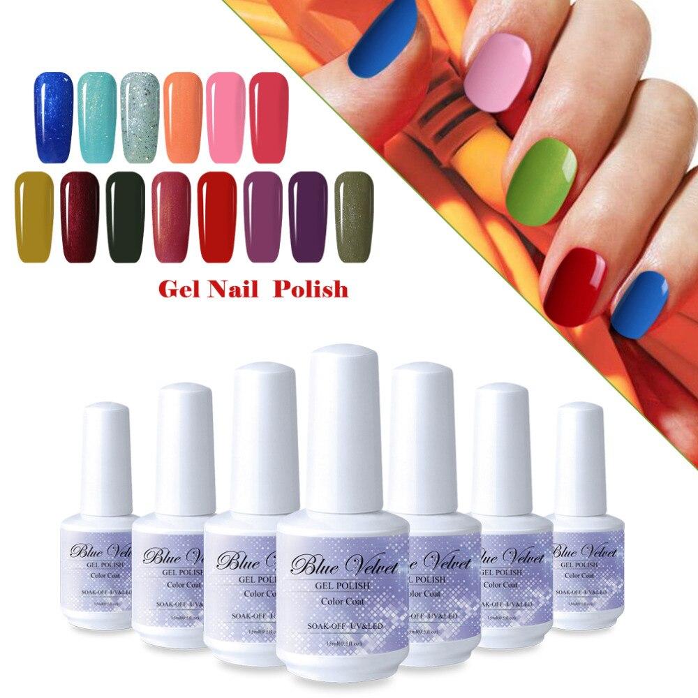 Blue Velvet 15ml Hot Selling 1 Piece 15ml UV Gel Nail