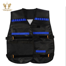 NFstrike Unisex Soft Bullet Tactical Darts Storage Waistcoat for Nerf Defense Military Accessory