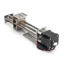 Абсолютно 150 мм скользящий ход ЧПУ Z-axIs Slide Linear Motion+ NEMA17 шаговый двигатель для Reprap гравировальный станок