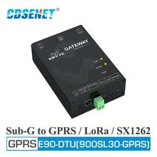 E90 DTU(900SL30 GPRS) 915MHz 868MHz SX1262 LoRa GPRS Modem PA LNA Interfaccia USB Modulo Ricevitore Trasmettitore Wireless
