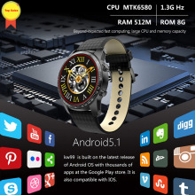 high quality watches Android 5.1 OS Smart Watch 3G MTK6580 8GB Bluetooth SIM WIFI Phone GPS Heart Rate Monitor smart wristwatch scls zgpax s8 1 54 inch android 4 4 kitkat os dual core unlocked 3g sim smart phone smart wristwatch black
