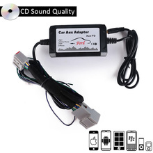 New AUX Car Audio Changer Interface MP3 Music Player Adapter for Ford Edge Expedition Focus Fusion Mustang Parts цена 2017