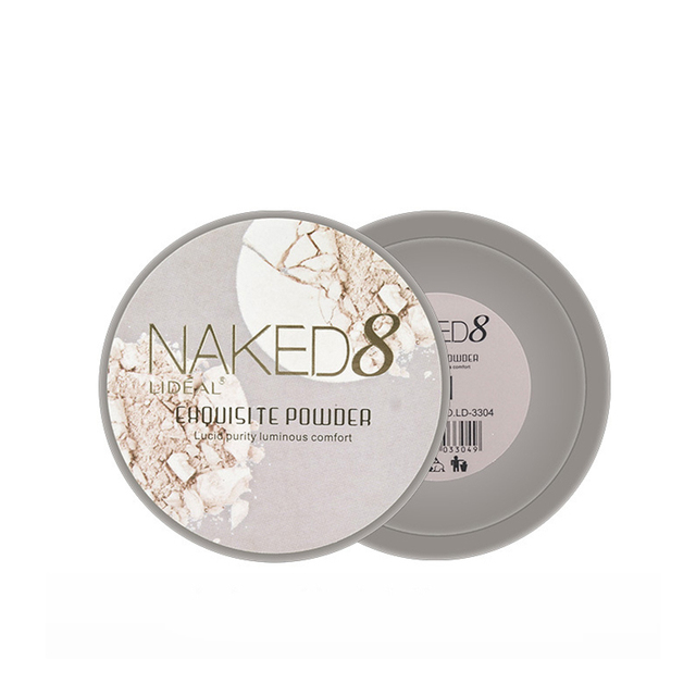 LIDEAL Brand Translucent Compact Pressed Face Contour Palette Finishing Powder Setting Makeup Bare Mineralize Skinfinish Soft 2