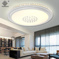 Point Ceiling Light Crystal Modern Acrylic Contemporary Design Lamps Fixtures Luminaire For Hall Decorative Smart House