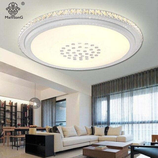 Punto Luce Di Soffitto Di Cristallo Moderno Acrilico Design Contemporaneo  Infissi Lampade Apparecchio Per Sala Illuminazione