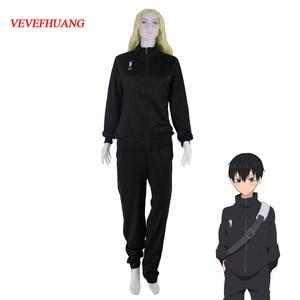 Image 1 - VEVEFHUANG Anime Haikyuu Uniform Karasuno High School Volleyball Club Men Boy Jacket Clothes Cosplay Costumes Sportswear