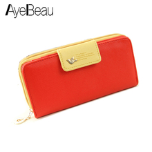 купить New Small Leather Change Coin Purse Key Fashion Lady Zipper Brand Women Wallet Female Case Pouch Phone Bag For Girl Euro Money по цене 519.75 рублей