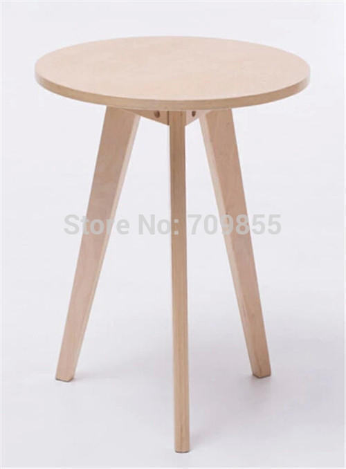 High end table living room sets contemporary natural color for Small wood end table